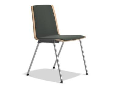 Stapelbarer Stuhl mit Verkettung CALIBER 2892/00