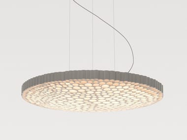LED direct light technopolymer pendant lamp CALIPSO | Pendant lamp