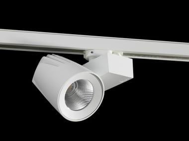 Illuminazione a binario a LED in alluminio verniciato a polvere CALLISTO