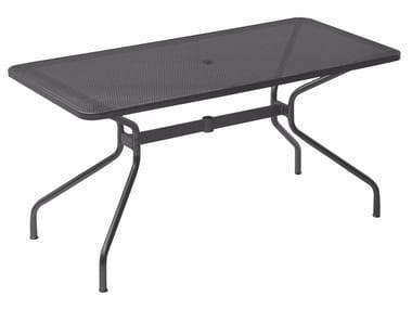 Rectangular steel garden table CAMBI | Rectangular table