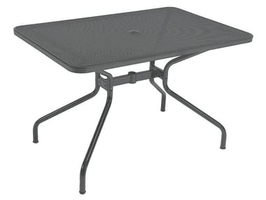 Rectangular steel garden table CAMBI | Rectangular table