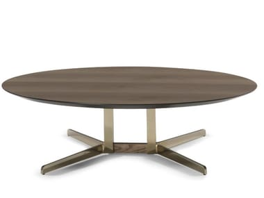 Low round coffee table CAMPUS | Low coffee table