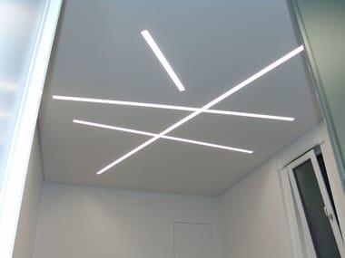 MDF linear lighting profile CANALETTO DOPPIO OPEN LED