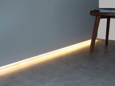 MDF linear lighting profile CANALETTO FOR WALL