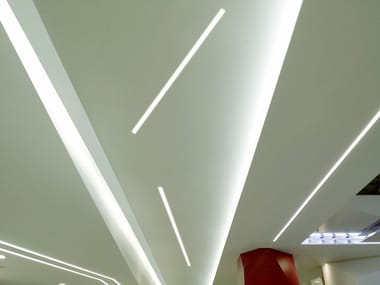 MDF linear lighting profile CANALETTO SMART