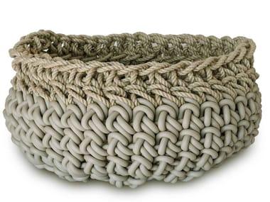 Hemp and neoprene basket CANAPA HC11