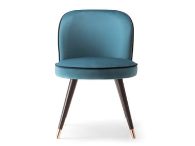 Upholstered fabric chair CANDY | Chair