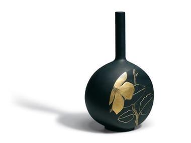 Ceramic vase CANVAS FLOWER TWIG GL | Vase
