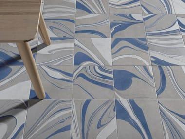 Indoor/outdoor porcelain stoneware wall/floor tiles CANVAS