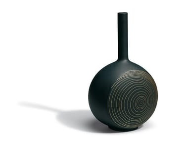 Vaso in ceramica CANVAS TREE RINGS | Vaso