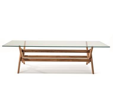 Tavolo in legno e vetro 056 CAPITOL COMPLEX TABLE