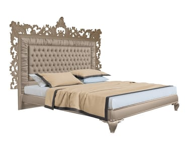 Double bed with high headboard CAPRI I | Bed