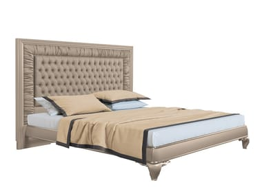 Double bed with tufted headboard CAPRI II | Bed