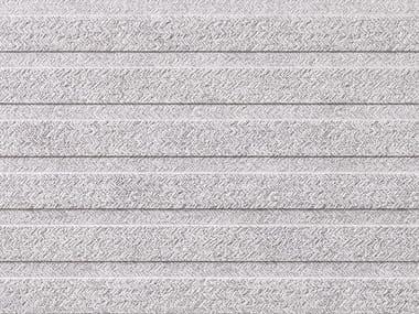 Revêtement mural en grès cérame effet pierre CAPRI LINEAL GREY