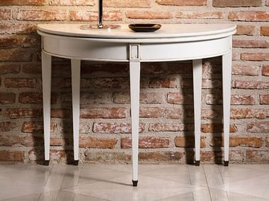 Demilune extending console table CAPRICCI | Extending console table
