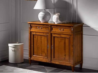 Cherry wood sideboard with drawers CAPRICCI | Sideboard with drawers