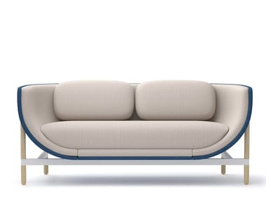 2-er Sofa aus Stoff CAPSULE LOUNGE | 2-er Sofa