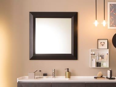 Framed wall-mounted mirror CARACALLA