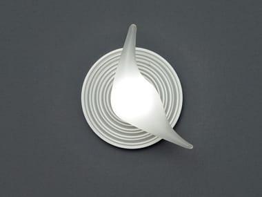 Lampada da soffitto a luce diretta in vetro borosilicato CARAMELLA | Lampada da soffitto
