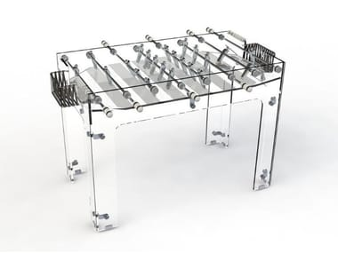 Glass football table CARAT