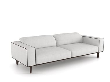 Sectional fabric sofa with removable cover CARESSE EN-VOL | Sofa