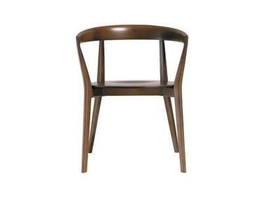 Wooden chair with armrests CAROLA SO0902