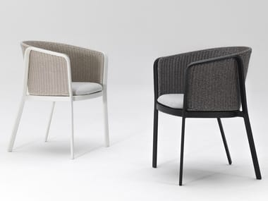 Garden chair with armrests CAROUSEL