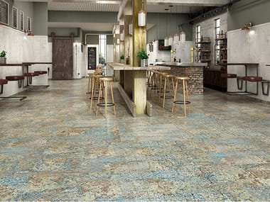 Porcelain wall/floor tiles with textile effect CARPET