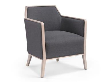 Cadeira lounge de tecido com braços CARPIEN MASS