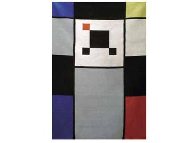 Handmade rectangular wool rug CARTOON | Rug