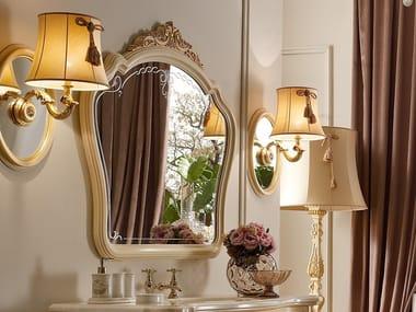 Framed wall-mounted bathroom mirror CASA PRINCIPE | Bathroom mirror