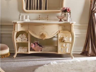 Lacquered vanity unit with drawers CASA PRINCIPE   Vanity unit