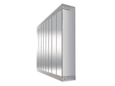 Sectional mirrored wooden wardrobe CASANOVA | Wardrobe