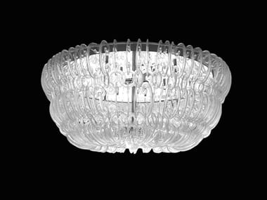 LED Murano glass ceiling lamp CASANOVA | Ceiling lamp