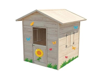Wooden Playhouse for playground CASETTA