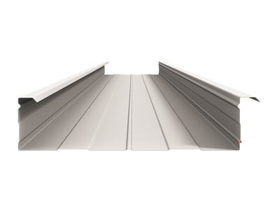 Metal sheet for roof Cassettes lower shell