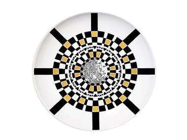 Ceramic dinner plate CASTLE