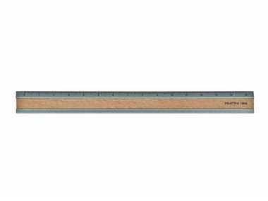 Aluminium and wood ruler CB 72 | Aluminium and wood ruler