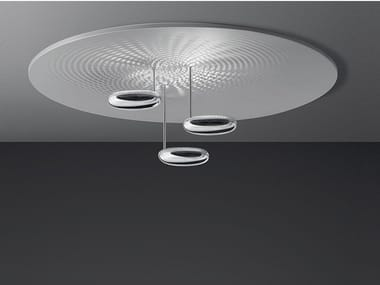 Indirect light die cast aluminium ceiling lamp DROPLET | Ceiling lamp
