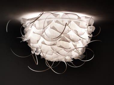 Handmade metal and polyethylene ceiling lamp STRUK C3