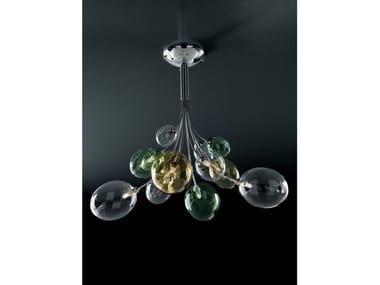 Lampada da soffitto a luce diretta in Pyrex® BOLLA | Lampada da soffitto