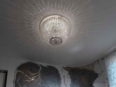 Plafoniere Inox Soffitto : Lampade da soffitto con cristalli swarovski® archiproducts