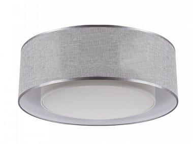 Linen ceiling light BERGAMO   Ceiling lamp