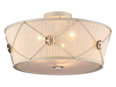 Lampada da soffitto in organza LEA   Lampada da soffitto