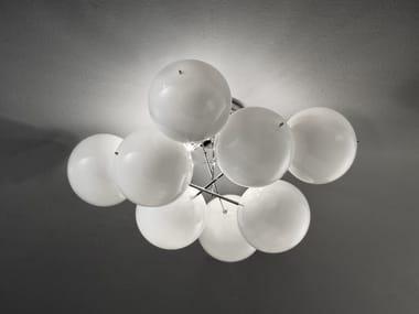 Crystal ceiling lamp ATOM Ø 55
