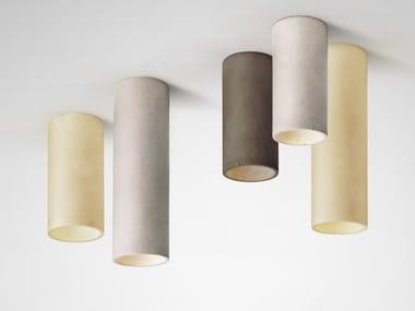 Concrete ceiling lamp CROMIA | Ceiling lamp