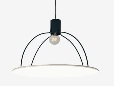 Lampada da soffitto fatta a mano in tessuto ECLIPSE | Lampada da soffitto
