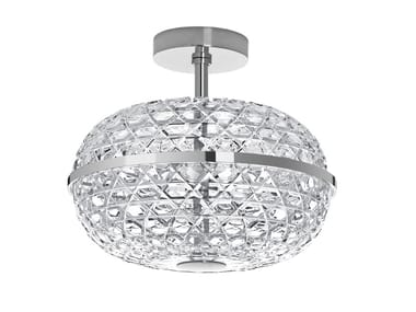 Crystal ceiling light with fixed arm ROYAL | Ceiling light