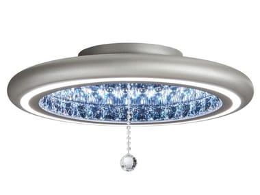 Plafoniera Cristallo Swarovski : Lampade da soffitto con cristalli swarovski archiproducts