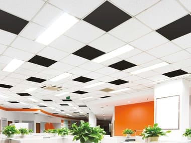 Sound absorbing polyester fibre ceiling panels EVOLUTION SILENT | Ceiling panels